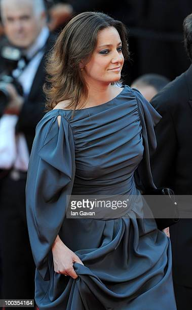 Jury member Giovanna Mezzogiorno attends the Palme d'Or Award Closing Ceremony held at the Palais des Festivals during the 63rd Annual Cannes Film...