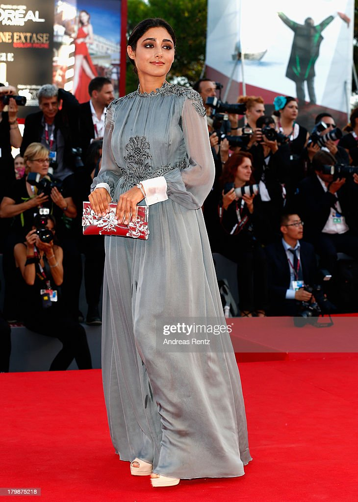 Jury Member <a gi-track='captionPersonalityLinkClicked' href=/galleries/search?phrase=Golshifteh+Farahani&family=editorial&specificpeople=5535488 ng-click='$event.stopPropagation()'>Golshifteh Farahani</a> attends the Closing Ceremony during the 70th Venice International Film Festival at the Palazzo del Cinema on September 7, 2013 in Venice, Italy.