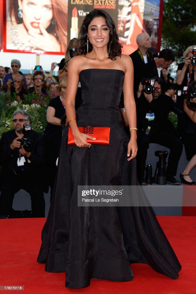 Jury member <a gi-track='captionPersonalityLinkClicked' href=/galleries/search?phrase=Golshifteh+Farahani&family=editorial&specificpeople=5535488 ng-click='$event.stopPropagation()'>Golshifteh Farahani</a> attends the Opening Ceremony And 'Gravity' Premiere during the 70th Venice International Film Festival at the Palazzo del Cinema on August 28, 2013 in Venice, Italy.
