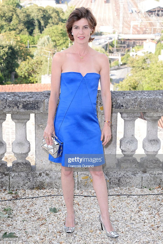 Jury member Irene Jacob attends the Jury photocall during the 8th Angouleme French-Speaking Film Festival on August 25, 2015 in Angouleme, France.