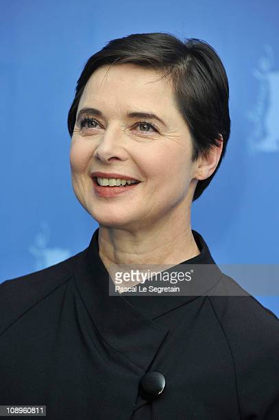 Jury member Isabella Rossellini attend the International Jury Photocall during day one of the 61st Berlin International Film Festival at the Grand...