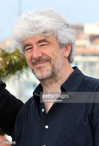 Jury member Jacques Maillot attends the Camera d'Or Jury Photocall during the 64th Annual Cannes Film Festival at the Palais des Festivals on May 12...