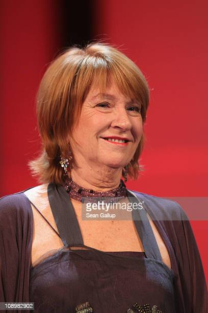 Jury member Jan Chapman attends the grand opening ceremony during the opening day of the 61st Berlin International Film Festival at Berlinale Palace...