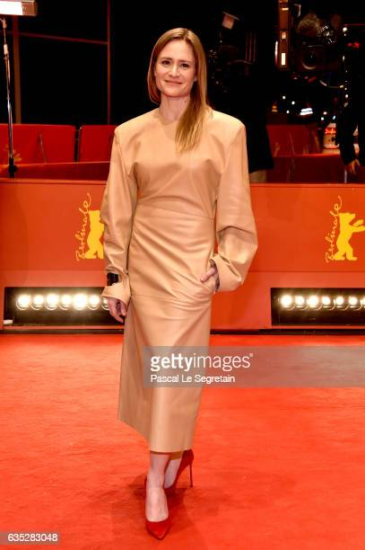 Jury member Julia Jentsch attends the 'Beuys' premiere during the 67th Berlinale International Film Festival Berlin at Berlinale Palace on February...