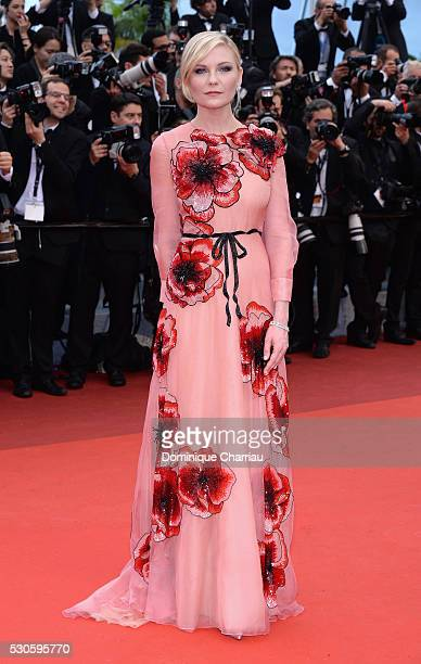 Jury Member Kirsten Dunst attends the 'Cafe Society' premiere and the Opening Night Gala during the 69th annual Cannes Film Festival at the Palais...