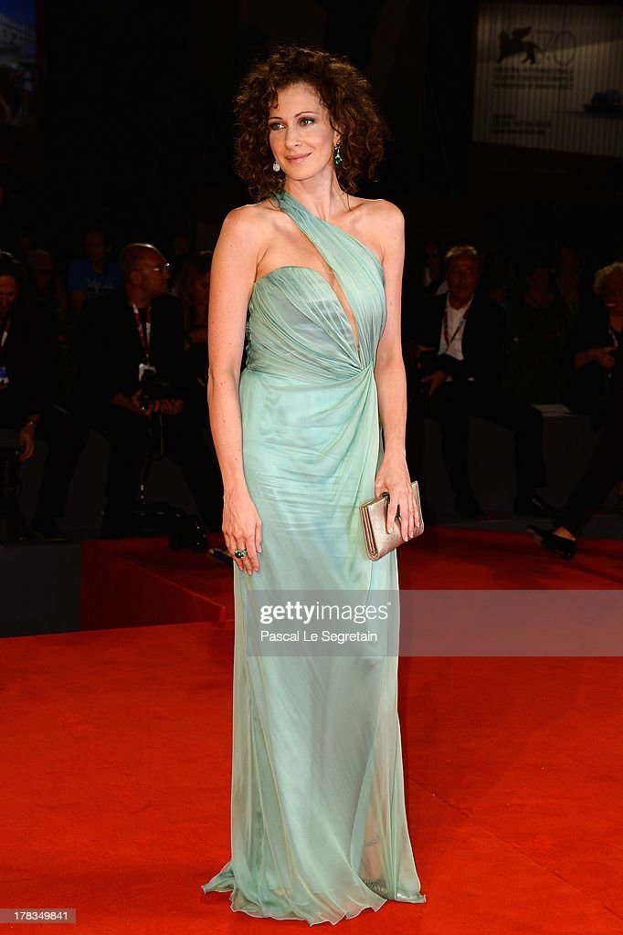 Jury member Ksenyia Rappoport attends the 'Via Castellana Bandiera' premiere during the 70th Venice International Film Festival at the Palazzo del Cinema on August 29, 2013 in Venice, Italy.