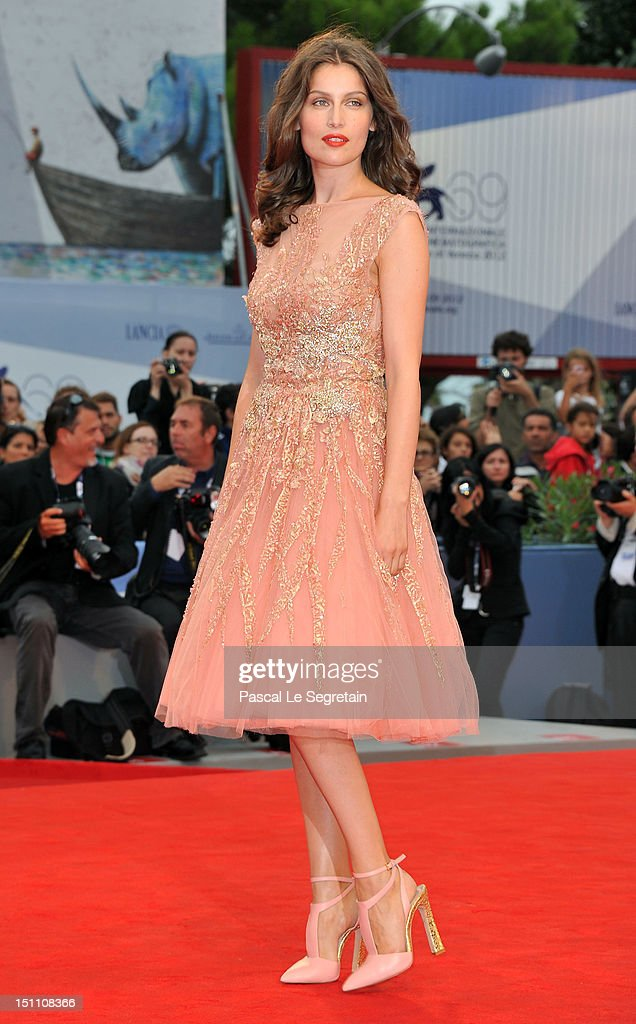 Jury member Laetitia Casta attends 'The Master' Premiere during The 69th Venice Film Festival at the Palazzo del Cinema on September 1, 2012 in Venice, Italy.