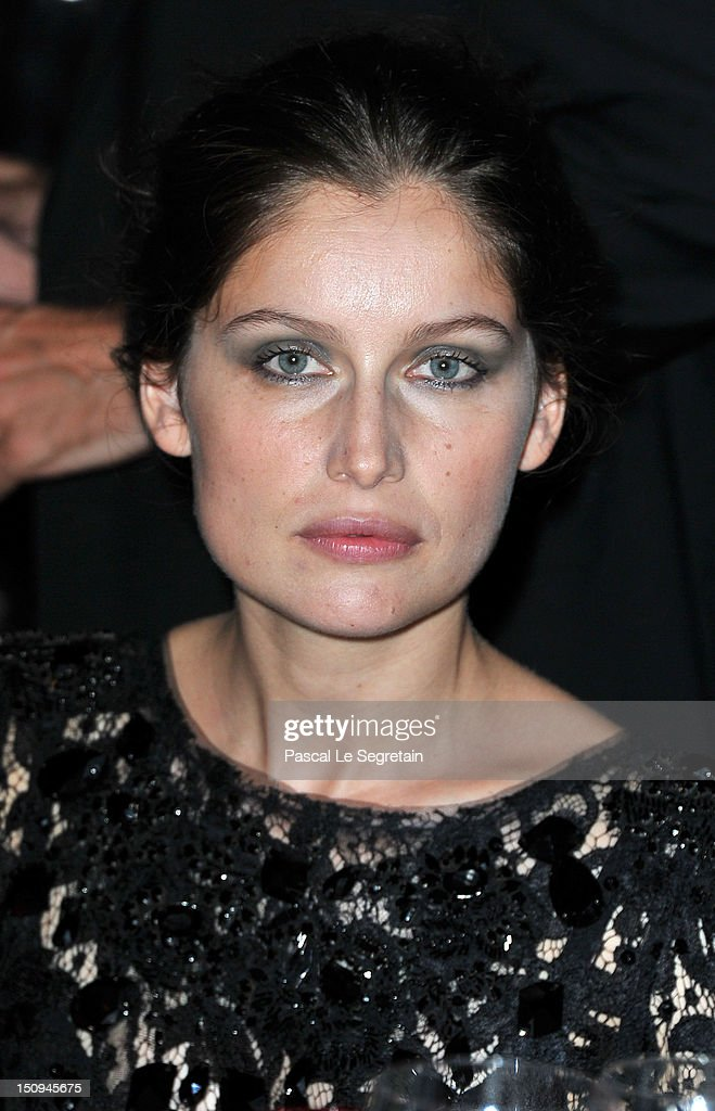 Jury Member Laetitia Casta attends the Opening Ceremony Dinner during the 69th Venice International Film Festival at Palazzo del Cinema on August 29, 2012 in Venice, Italy.