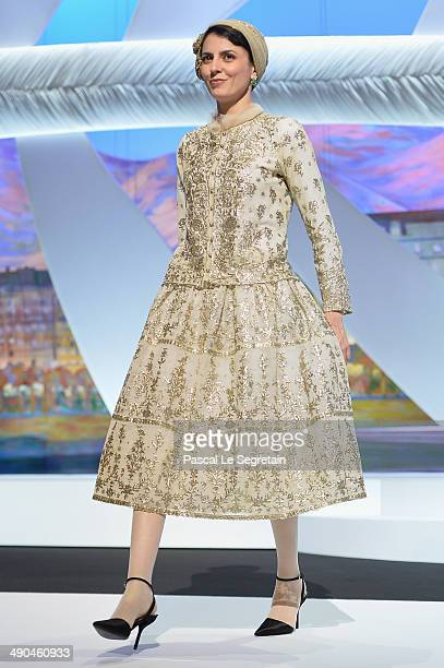 Jury member Leila Hatami attends the Opening ceremony during the 67th Annual Cannes Film Festival on May 14 2014 in Cannes France