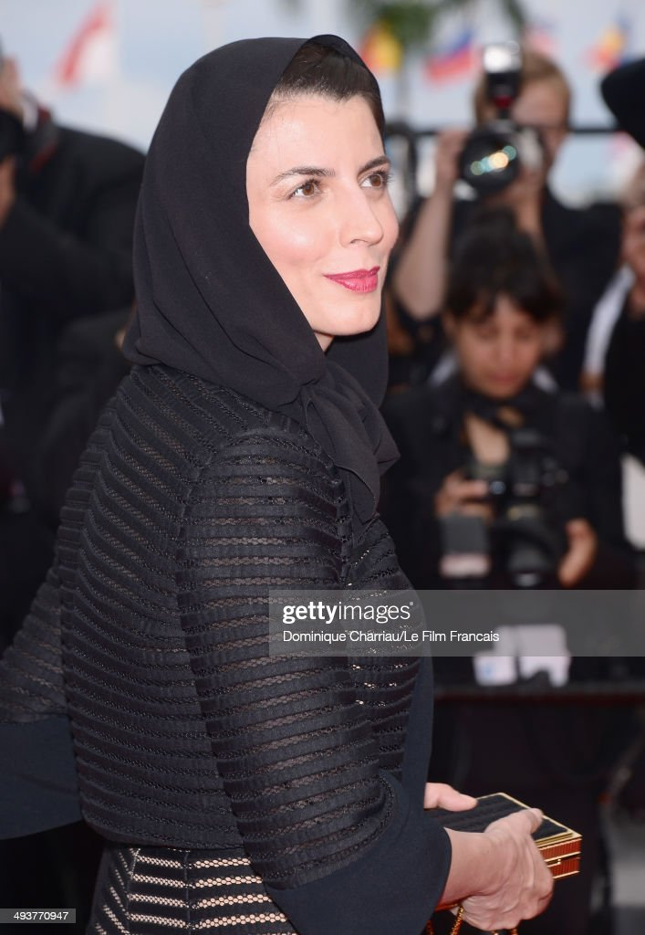 Jury Member <a gi-track='captionPersonalityLinkClicked' href=/galleries/search?phrase=Leila+Hatami&family=editorial&specificpeople=7082232 ng-click='$event.stopPropagation()'>Leila Hatami</a> attends the red carpet for the Palme D'Or winners at the 67th Annual Cannes Film Festival on May 25, 2014 in Cannes, France.