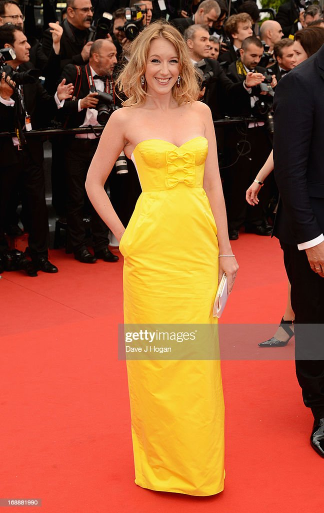 Jury member Ludivine Sagnier attends 'The Bling Ring' premiere during The 66th Annual Cannes Film Festival at the Palais des Festivals on May 16, 2013 in Cannes, France.