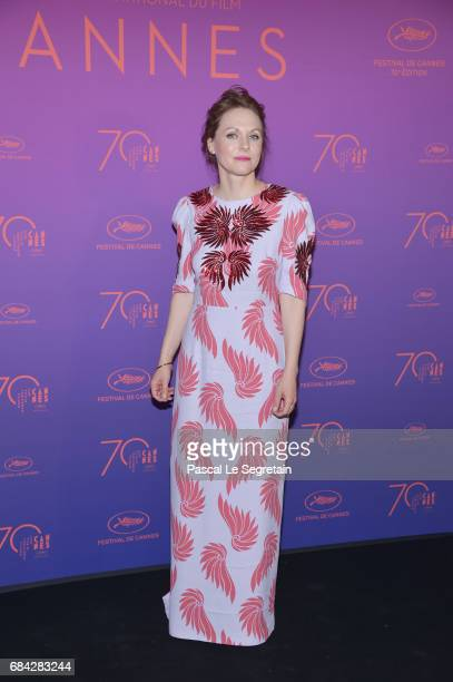 Jury member Maren Ade attends the Opening Gala Dinner during the 70th annual Cannes Film Festival at Palais des Festivals on May 17 2017 in Cannes...