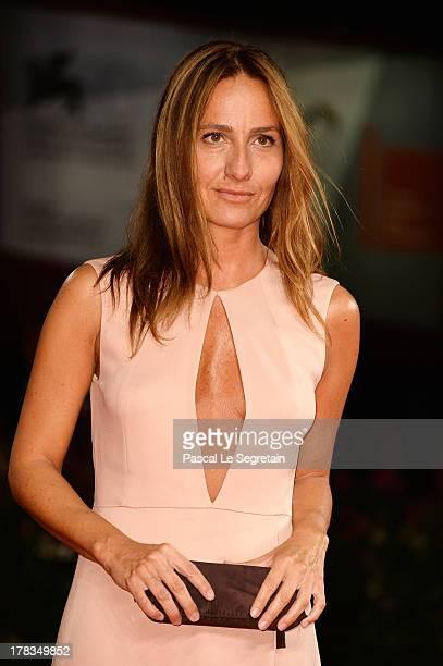 Jury member Maria Sole Tognazzi attends the 'Via Castellana Bandiera' premiere during the 70th Venice International Film Festival at the Palazzo del...