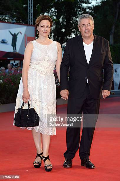 Jury member Martina Gedeck and Markus Imboden attend 'La Jalousie' Premiere during the 70th Venice International Film Festival at the Sala Grande on...