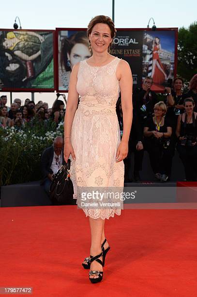Jury member Martina Gedeck attends 'La Jalousie' Premiere during the 70th Venice International Film Festival at the Sala Grande on September 5 2013...