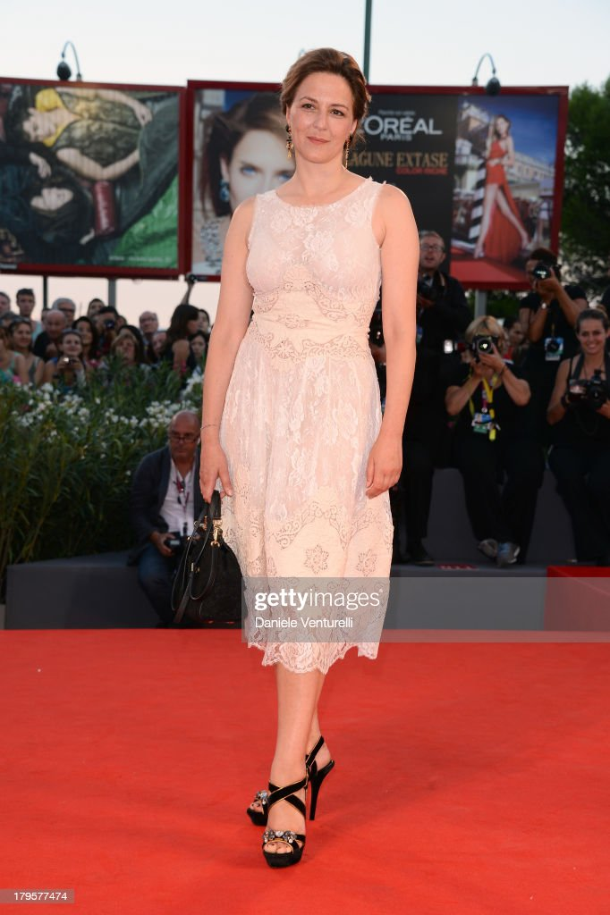 Jury member Martina Gedeck attends 'La Jalousie' Premiere during the 70th Venice International Film Festival at the Sala Grande on September 5, 2013 in Venice, Italy.