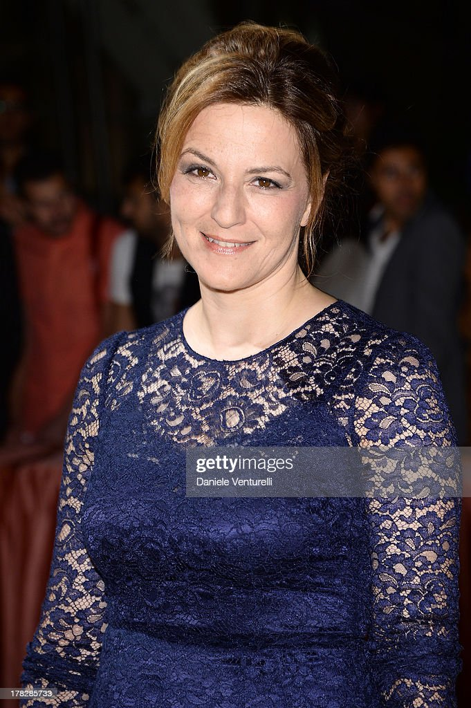 Jury member Martina Gedeck attends the Opening Ceremony during The 70th Venice International Film Festival on August 28, 2013 in Venice, Italy.