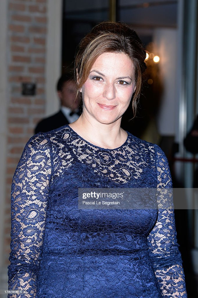 Jury member Martina Gedeck attends the Opening Dinner Arrivals during the 70th Venice International Film Festival at the Hotel Excelsior on August 28, 2013 in Venice, Italy.