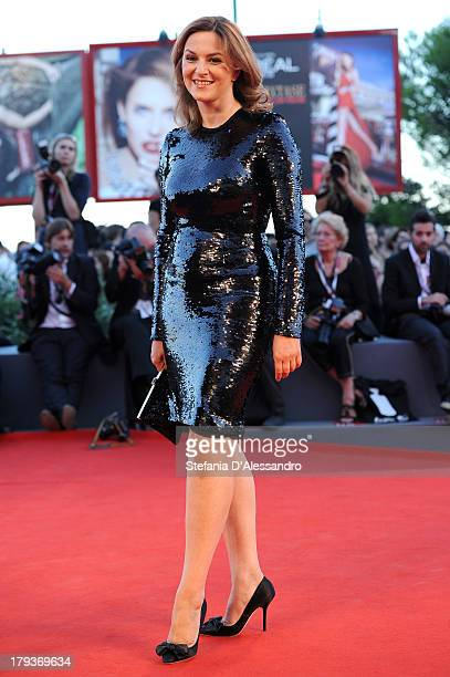 Jury member Martina Gedeck attends the 'The Zero Theorem' Premiere during the 70th Venice International Film Festival at Sala Grande on September 2...
