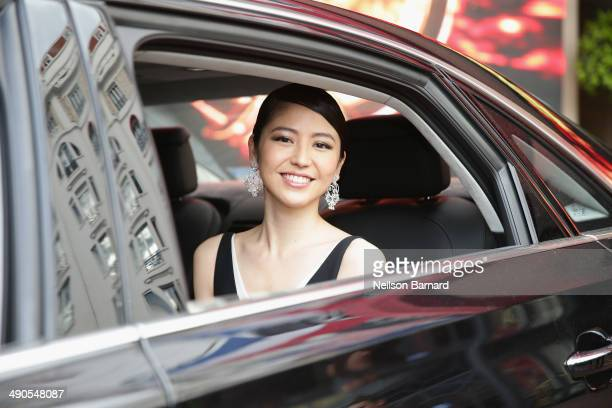 Jury member Masami Nagasawa attends the welcome Cocktail party for jury members during the 67th Annual Cannes Film Festival on May 14 2014 in Cannes...