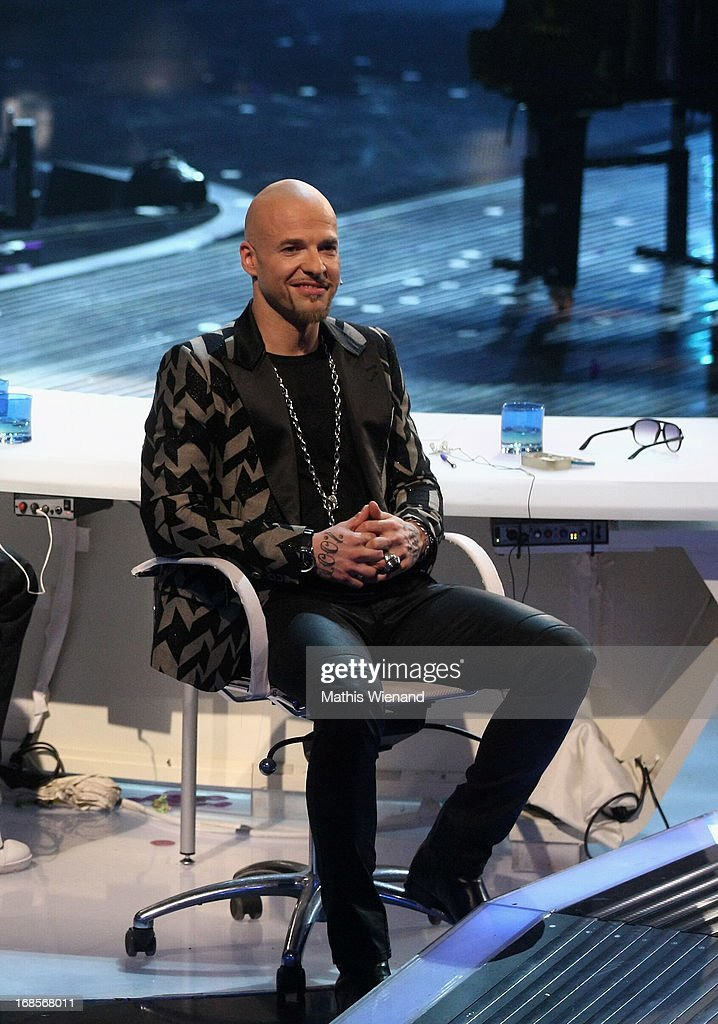 Jury member Mateo Jaschik at the 'Deutschland sucht den Superstar' Finals on May 11, 2013 in Cologne, Germany.