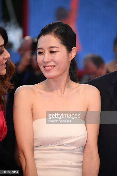 Jury member Moon Sori attends the closing ceremony of the 73rd Venice Film Festival at Sala Grande on September 10 2016 in Venice Italy
