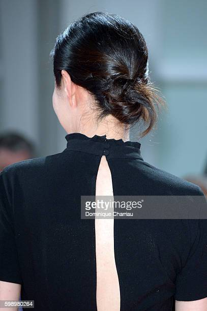 Jury member Moon Sori attends the premiere of 'The Young Pope' during the 73rd Venice Film Festival at on September 3 2016 in Venice Italy