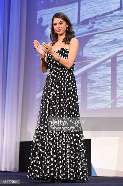 Jury member Moran Atias attends the Closing Ceremony during the 71st Venice Film Festival at Sala Grande on September 6 2014 in Venice Italy