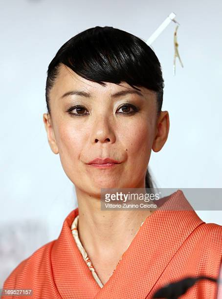 Jury member Naomi Kawase attends the Palme D'Or Winners Press Conference during the 66th Annual Cannes Film Festival at the Palais des Festivals on...