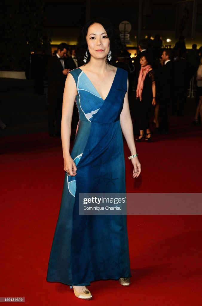 Jury member Naomi Kawase attends the Premiere of 'Wara No Tate' (Shield of Straw) during the 66th Annual Cannes Film Festival at the Palais des Festivals on May 20, 2013 in Cannes, France.