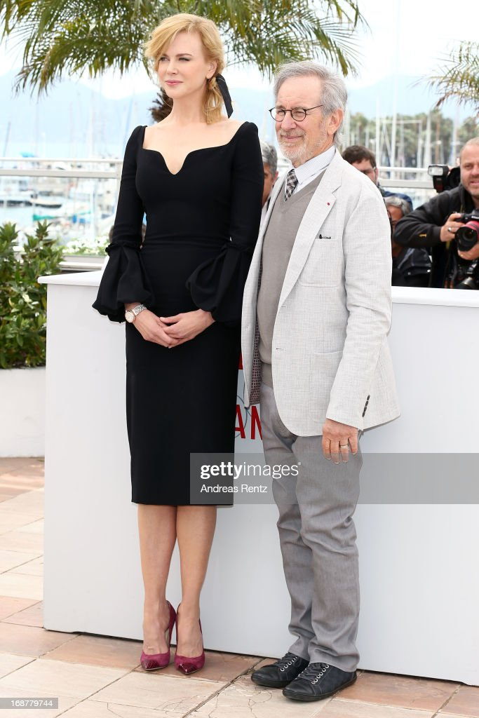 Jury member Nicole Kidman and Jury President Steven Spielberg attend the Jury Photocall during the 66th Annual Cannes Film Festival at the Palais des Festivals on May 15, 2013 in Cannes, France.