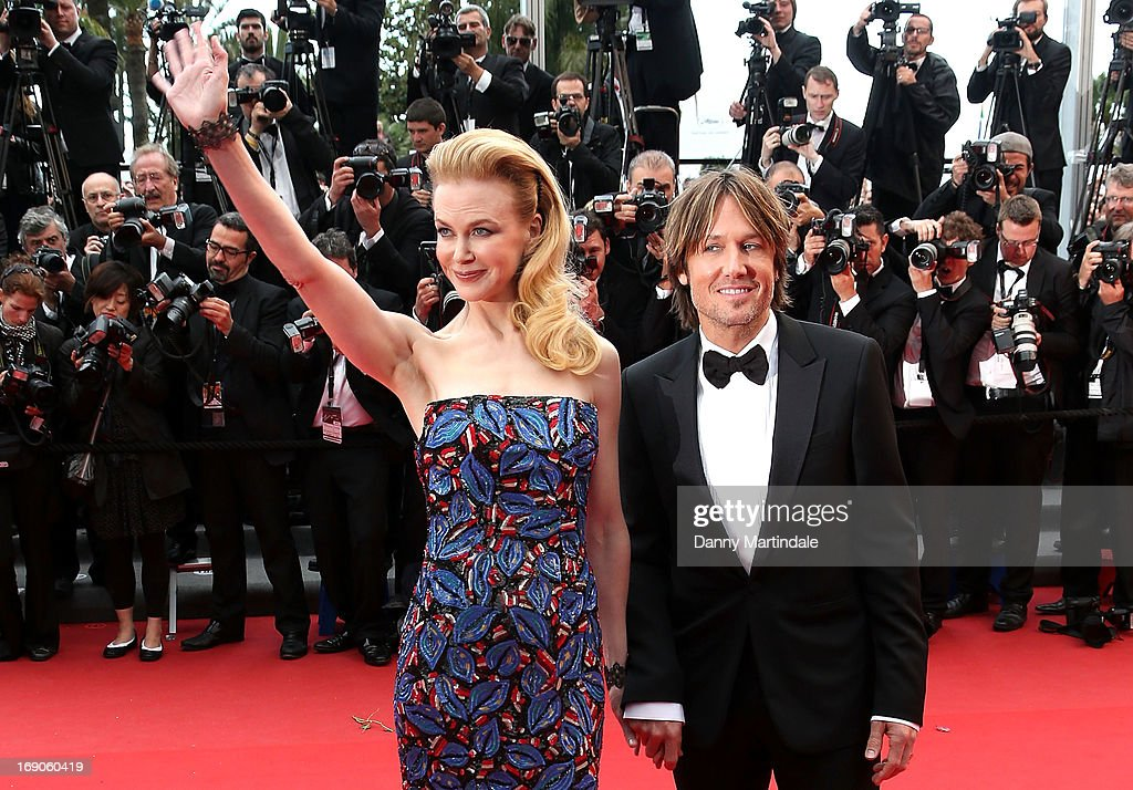 Jury member Nicole Kidman and Keith Urban attends the Premiere of 'Inside Llewyn Davis' at The 66th Annual Cannes Film Festival on May 19, 2013 in Cannes, France.