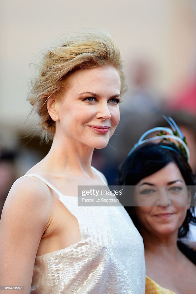Jury member Nicole Kidman arrives at 'Venus In Fur' Premiere during the 66th Annual Cannes Film Festival at Grand Theatre Lumiere on May 25, 2013 in Cannes, France.