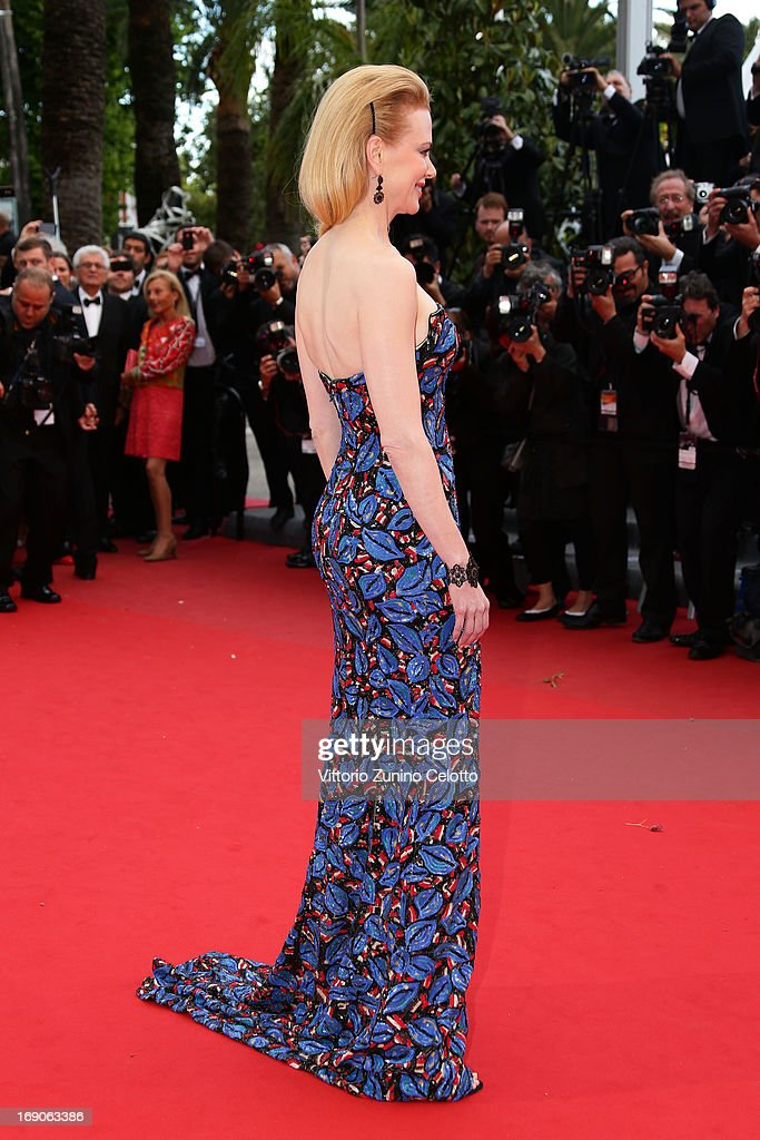 Jury member Nicole Kidman attends the 'Inside Llewyn Davis' Premiere during the 66th Annual Cannes Film Festival at Grand Theatre Lumiere on May 19, 2013 in Cannes, France.