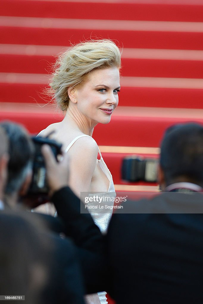 Jury member <a gi-track='captionPersonalityLinkClicked' href=/galleries/search?phrase=Nicole+Kidman&family=editorial&specificpeople=156404 ng-click='$event.stopPropagation()'>Nicole Kidman</a> attends the 'La Venus A La Fourrure' premiere during The 66th Annual Cannes Film Festival at Theatre Lumiere on May 25, 2013 in Cannes, France.