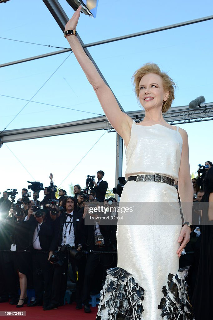 Jury member Nicole Kidman attends the 'La Venus A La Fourrure' premiere during The 66th Annual Cannes Film Festival at Theatre Lumiere on May 25, 2013 in Cannes, France.