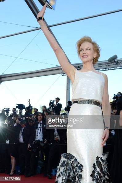 Jury member Nicole Kidman attends the 'La Venus A La Fourrure' premiere during The 66th Annual Cannes Film Festival at Theatre Lumiere on May 25 2013...