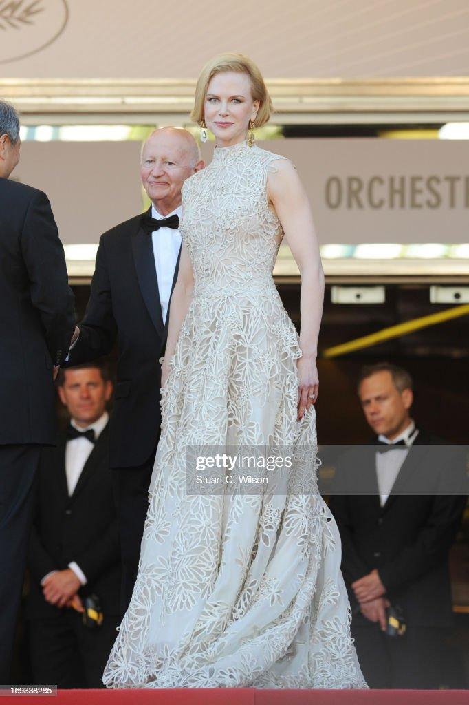 Jury member Nicole Kidman attends the 'Nebraska' premiere during The 66th Annual Cannes Film Festival at the Palais des Festival on May 23, 2013 in Cannes, France.