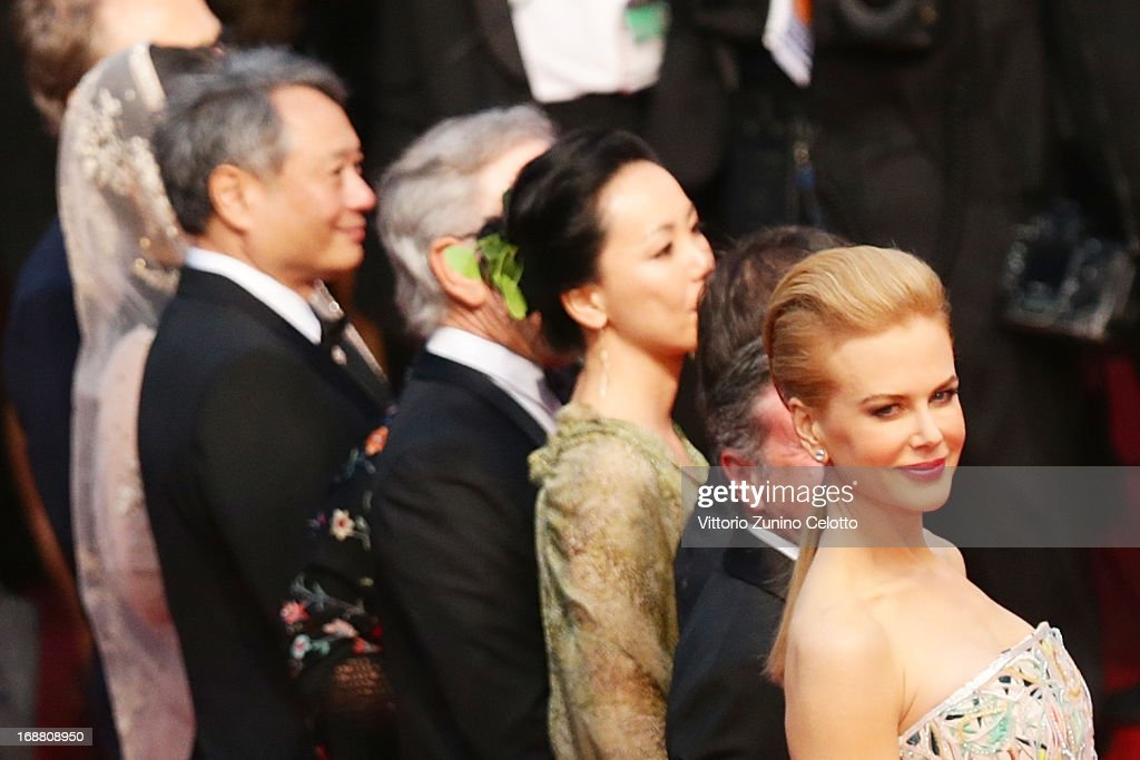 Jury member <a gi-track='captionPersonalityLinkClicked' href=/galleries/search?phrase=Nicole+Kidman&family=editorial&specificpeople=156404 ng-click='$event.stopPropagation()'>Nicole Kidman</a> attends the Opening Ceremony and 'The Great Gatsby' Premiere during the 66th Annual Cannes Film Festival at the Theatre Lumiere on May 15, 2013 in Cannes, France.