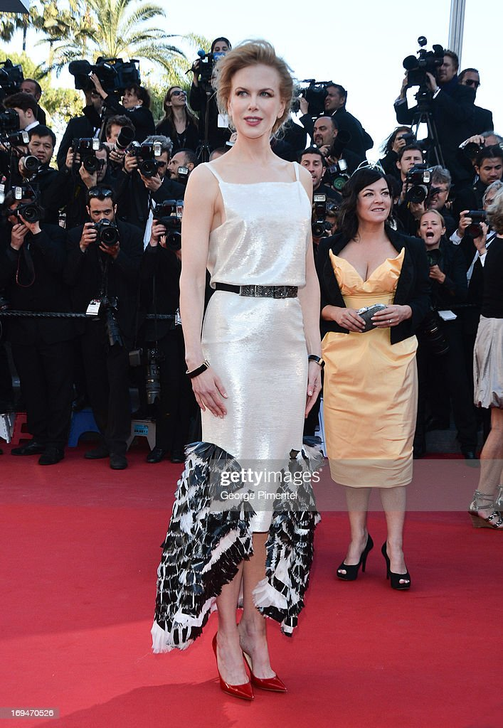 Jury member Nicole Kidman attends the Premiere of 'La Venus A La Fourrure' at The 66th Annual Cannes Film Festival on May 25, 2013 in Cannes, France.