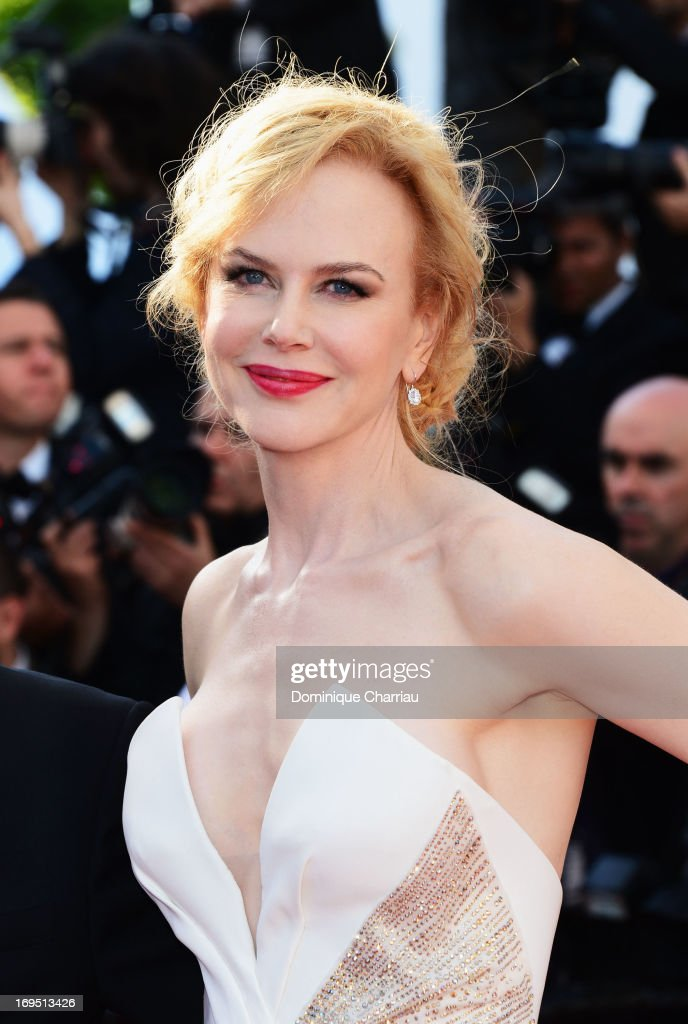 Jury member Nicole Kidman attends the Premiere of 'Zulu' and the Closing Ceremony of The 66th Annual Cannes Film Festival at Palais des Festivals on May 26, 2013 in Cannes, France.