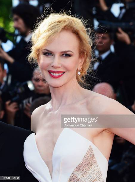Jury member Nicole Kidman attends the Premiere of 'Zulu' and the Closing Ceremony of The 66th Annual Cannes Film Festival at Palais des Festivals on...