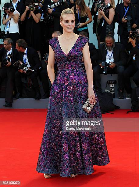 Jury member Nina Hoss attends the opening ceremony and premiere of 'La La Land' during the 73rd Venice Film Festival at Sala Grande on August 31 2016...