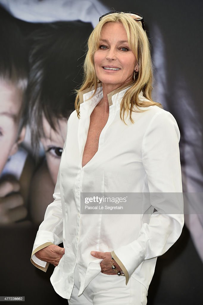 Jury member of the 55th Monte Carlo TV Festival, Bo Derek attends a photocall on June 15, 2015 in Monte-Carlo, Monaco.