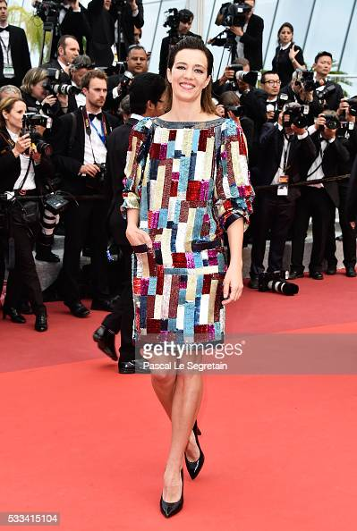 Jury member of 'Un certain regard' Celine Sallette attends the closing ceremony of the 69th annual Cannes Film Festival at the Palais des Festivals...