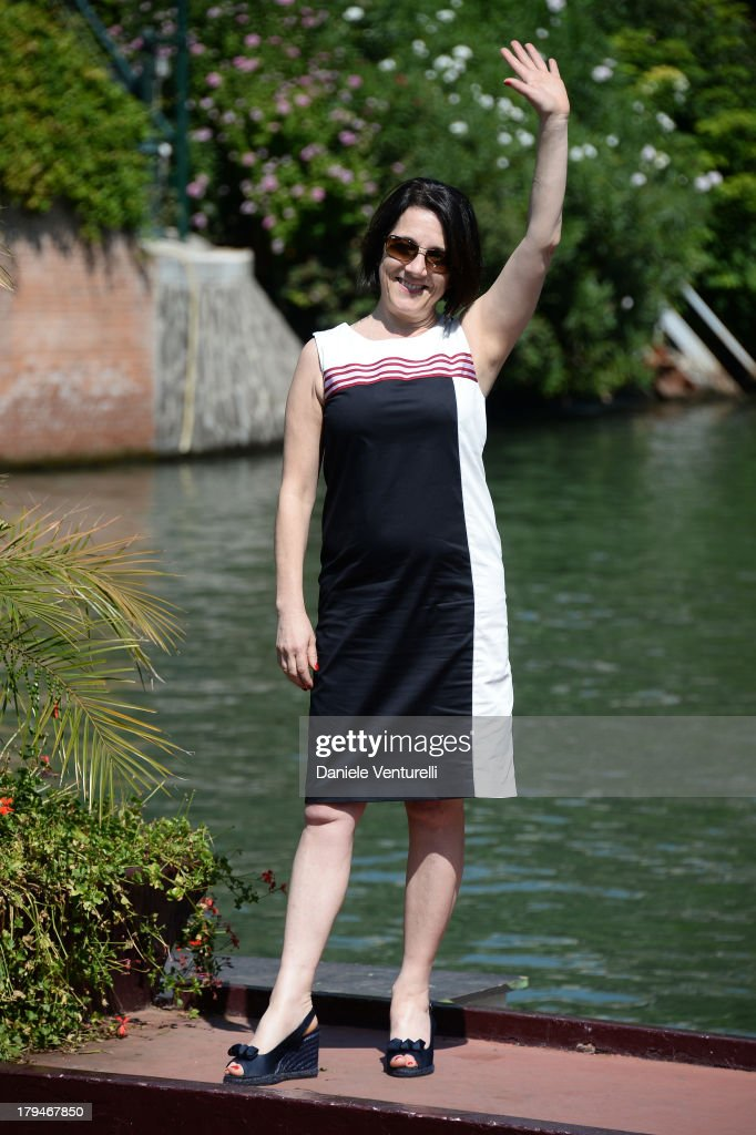 Jury member Paulina Garcia is seen during the 70th Venice International Film Festival on September 4, 2013 in Venice, Italy.