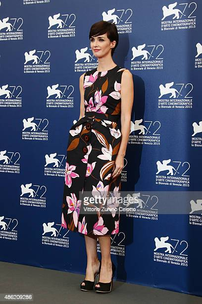 Jury member Paz Vega attends the Orizzonti Jury Photocall during the 72nd Venice Film Festival on September 2 2015 in Venice Italy