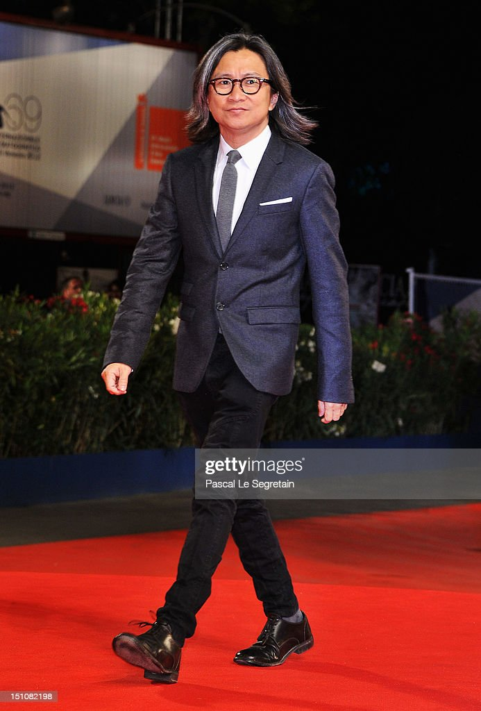 Jury Member Peter Ho-Sun Chan attends the 'Tai Chi O' premiere during the 69th Venice Film Festival at the Palazzo del Cinema on August 31, 2012 in Venice, Italy.