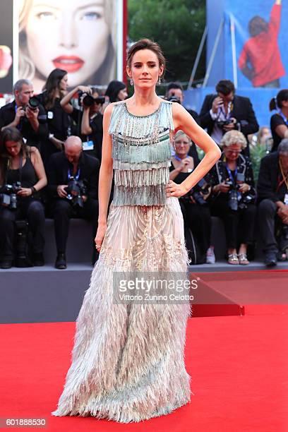 Jury member Pilar Lopez de Ayala attends the closing ceremony of the 73rd Venice Film Festival at Sala Grande on September 10 2016 in Venice Italy