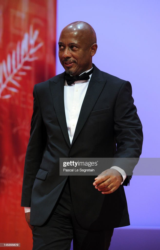 Jury member Raoul Peck onstage at the Closing Ceremony during the 65th Annual Cannes Film Festival on May 27, 2012 in Cannes, France.